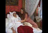 Enfermeira da buceta peluda cuidando do paciente