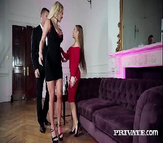 Cenas de sexo porno com duas delicias fodendo com sortudo